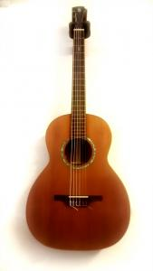 Baritone guitar, by Frank Tate (Dublin) with peg model P1UK 7.8 (ABS Swiss)